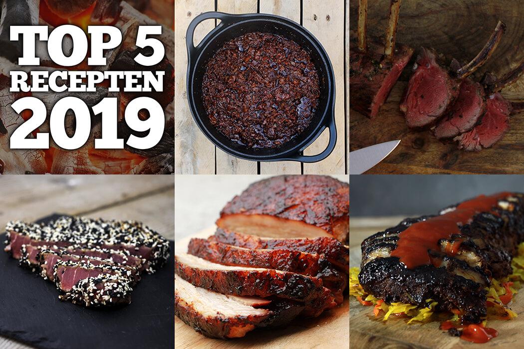 Top 5 BBQ Recepten 2019