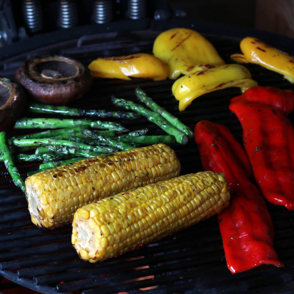 15 x inspiratie voor een vegetarische BBQ