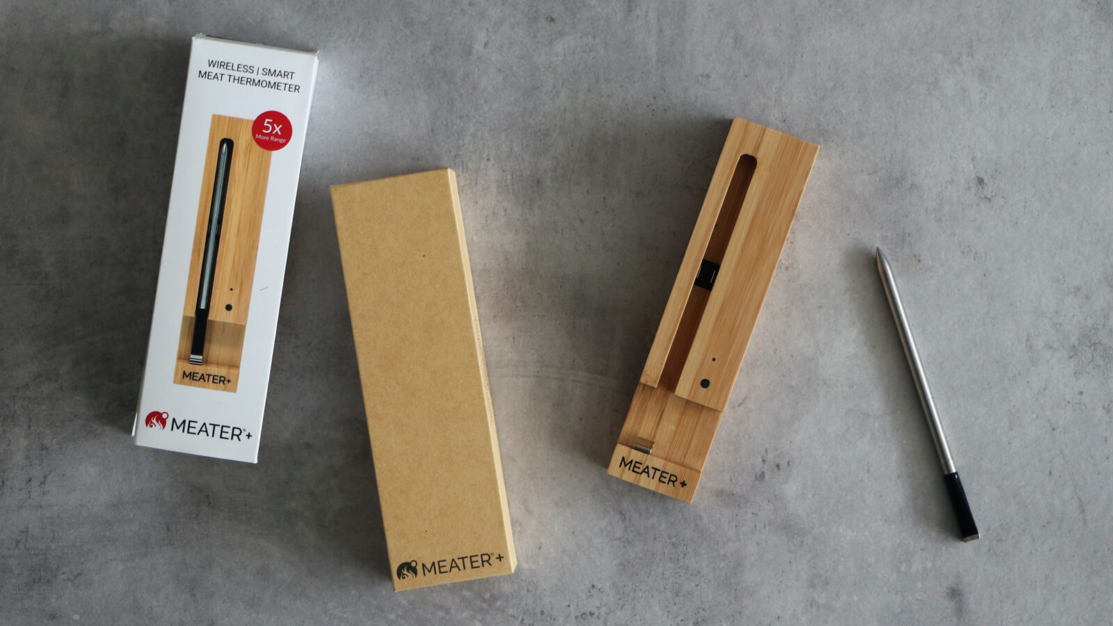 Review MEATER+ kernthermometer