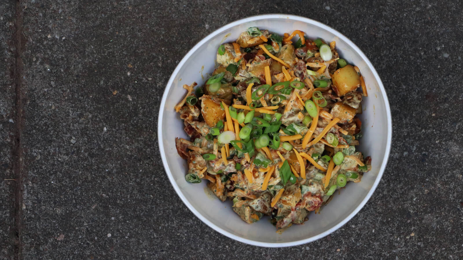 Bacon & Cheddar Aardappelsalade
