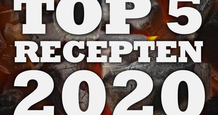 Top recepten van 2020