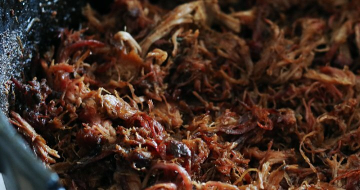 Carnitas van de BBQ