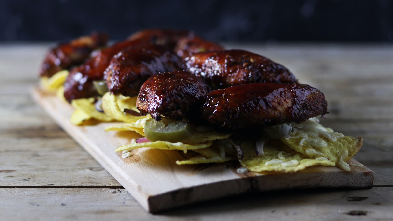 Drunken Whiskey Wings uit BBQ Magic, van Pitmaster X