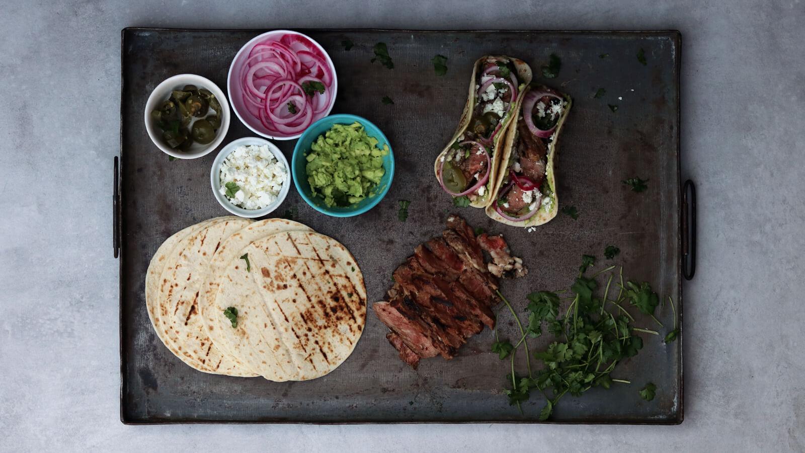 Ribeye Steak Taco's