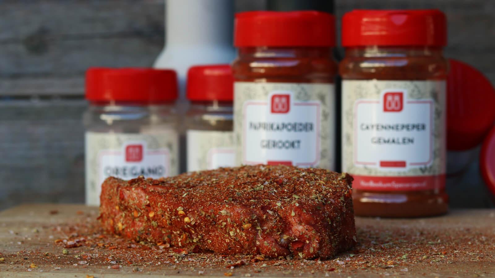 Pittige Steak Rub