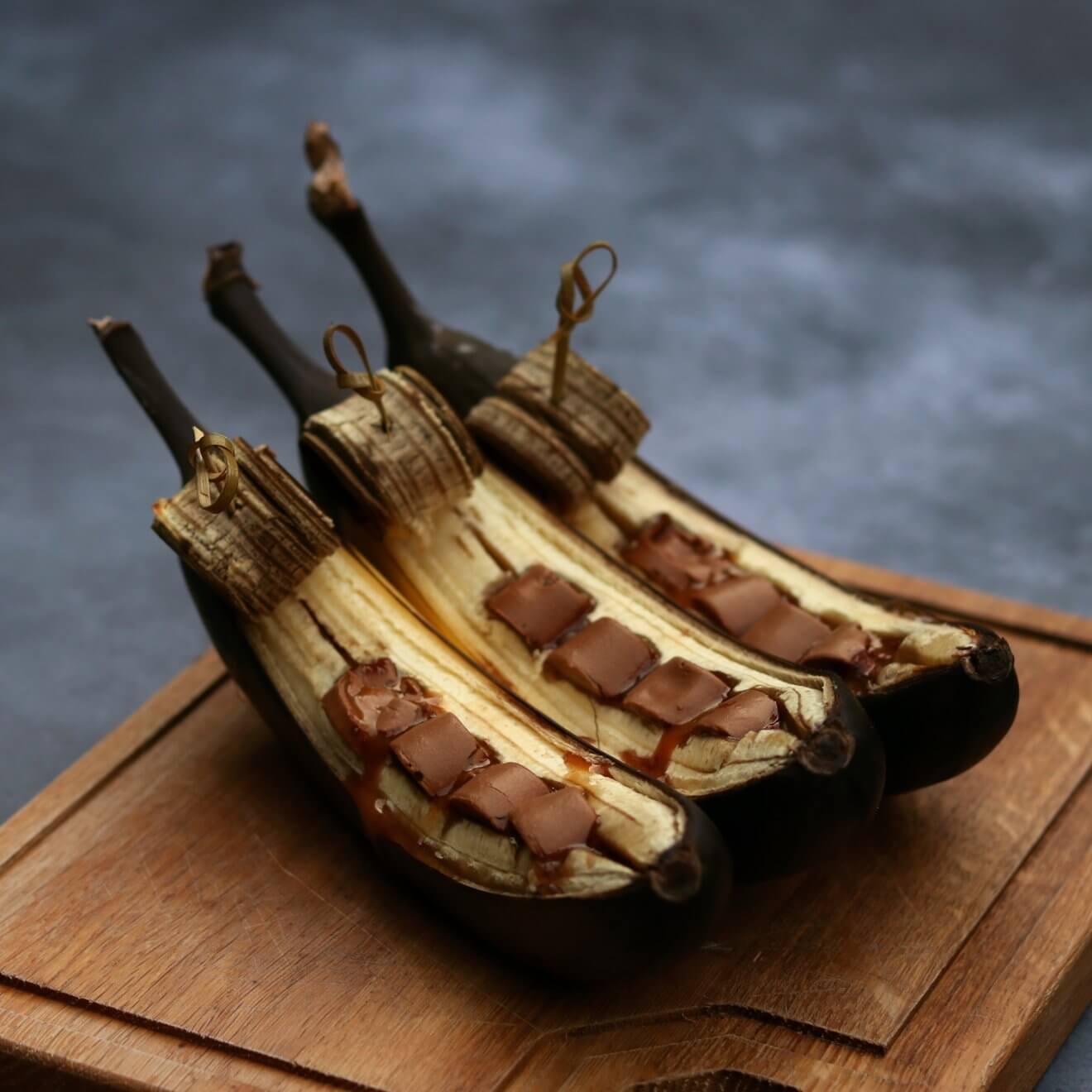 Bananen met Rolo's
